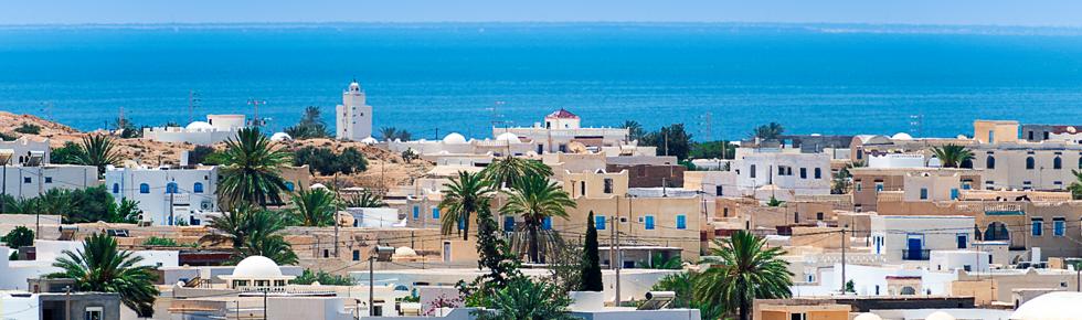 photo d'une ville en Tunisie
